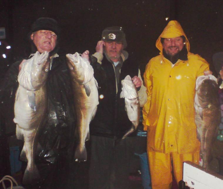 Christmas fishing trip christmas cod